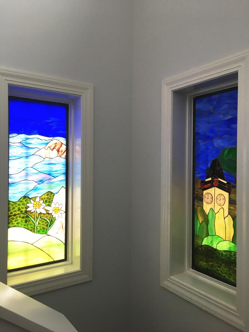 Blue Mountain Stained Glass See Each Page Above For More