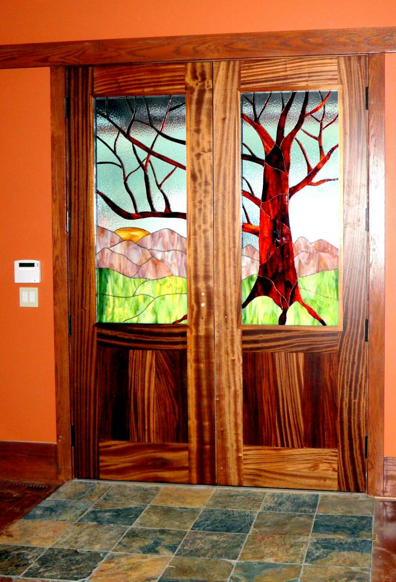 Stained glass interior doors - Stained Glass Interior Doors 24